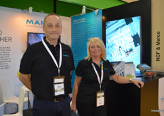 Marco were back in Hong Kong, this time in the Australian pavilion with NFC. Murray Hilborne and Mandy Hart were at the stand.