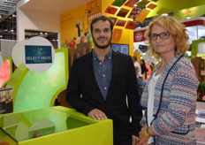 Fabien Bessonnet and Nina Ponthou from Select Fruit.