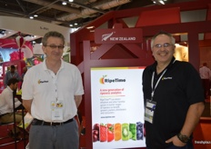 Jon lowry and Micheal Vukcevic at RipeTime were kept busy with many meetings.