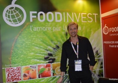 Adrian Du Toit at Food Invest.