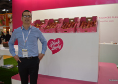 Craig Chester from Pink Lady who updated the logo.