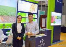 Gavin of Geat Wall. Next to the company's traditional exports of Chinese apples and pears, Great Wall has recently launched an import programme of Malaysian pineapples, which received market access to China earlier in 2017.