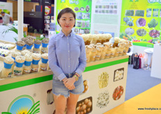 Lucy Shenzhen Yong Jia Fresh Produce. The company exports fresh vegetables to Europe and other overseas markets.