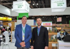 Álvaro Piedra and Jose Pablo Rodriquez from Procomer Costa Rica. This was the first year Costa Rica was present at the Asia Fruit Logistica with a pavilion.