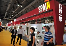 The amount of Spanish exhibitors has grown over the years, this year for the first time with such a pavilion