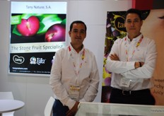 Jose Maria Naranso and Atanasio Naeanso from Tany Nature, one of the Spanish exhibitors
