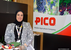 Supply Chain and Logistics Manager Amira Hosny of PICO (Egypt)