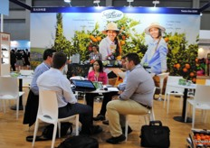 As well San Lucar was present, right from the start during the second day part of the New markets team was in meeting: Tanguy Debiesse, Jesús Albarrán and Marianela Rodriquez.