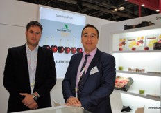 Fransesc mir Ferea and Ramon Pascual Sanchez from Summerfruit, Spain