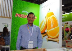 As México has a huge production of avocados, some of the presenting companies are specialized in this. Such as Benjamín Márguez Chávez from Avocados Deliseos.