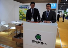 Coexco from Argentina is being represented this year by Andres Fraga and the president Rafael Gomila.