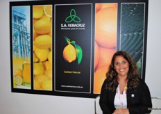 As well the Director Maria Victoria Seleme from SA Veracruz, Argentina was happy to promote their citrus.