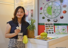 Carrie Chen of Agricultural Supply Division - Lytone (Taiwan)