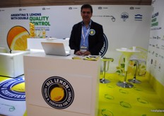 Pablo Ibarreche, Director of Nicolás & Asoc. Company that arranges all promotion for All Lemon Argentina.