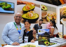 Arturo Medina from ProHass Peru with Judy S. Wu, an independent product consultant.