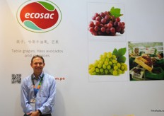 Gerd Burmester, commercial director from Ecosac Peru. One of the tablegrape companies that was hit by the floods earlier this year.