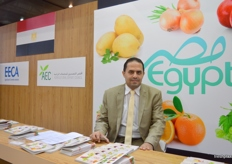 Mohamed Ahmed at the Agricultural Export Council (AEC - Egypt)