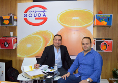Hassan El - Bishbishy with a colleague; Gouda has recently developed a new quality system (Egypt).