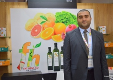 Elwalid Adel, Export Manager, Fat Hens Co. (Egypt)