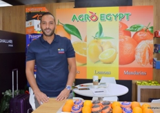 """The charming Ahmed Ghallab, Board Member, Agro Egypt; ""Okay"" and ""Princess"" are Agro Egypt brands for the Chinese market."""