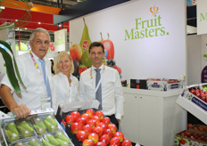 The FruitMasters team, consisting of Leonard Kampschoer, Svetlana Soldatova and Fabien Dumont. Leonard expects the breakthrough in China's pear export to become a reality soon.