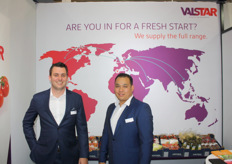 Jelle van Dijk and Ly Hoang of Valstar, present in Hong Kong for the first time with the new corporate image.