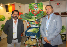"""DBS Agro was represented by Victor Bernad and Gunther de Boelpaep. Over the past year, experience has been gained with the export of Belgian fruit and vegetables to Asia. ""This market is the future."""