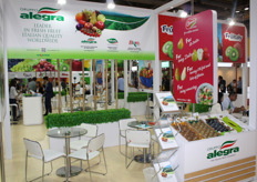 The Alegra booth
