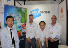 Ray Lau, Juri Palandt, Kim Tam and Co van Es of Milestone Fresh. Last week, the company opened new offices in Thailand, following those in Costa Rica, Honduras and Guatemala.