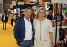 Leon and Sophie van den Oord attended the fair with an eye on the potato market in Asia.