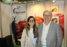 Valcom was represented by Cristianna Kerschbaumer and Tiziano Caprioli