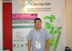 Michael Zhang of the Finnish company Navarbo.