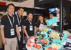 """Japan Premium"" at its best.. well visited during the exhibition and offered product tasting at their stand."""