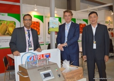 Siva Shankaran of UFLEX (India) with Ivo Hendriks of Perfotec (The Netherlands) and Jerry Wu of Everscience Technology Co. (Taiwan).