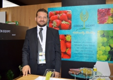 Export Manager Ahmed Galal of Green Egypt (Egypt)