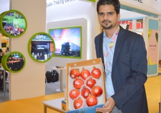 Manish Ahmed, managing director of Sial Impex (India)