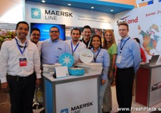 The whole team of Maersk Line and Sealand.
