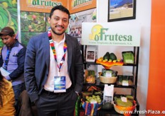 Luis Teo from Frutesa, they have expanded their assortment with avocados.