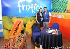 Rosio Martínez from Agexport and as well the Comite of mango together with Rudy Mayorga.