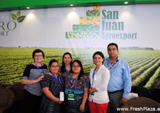 A part of the team from San Juan Agroexport.