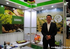 Mario Yarzebski from Palo Blanco. A Guatemalan company that works with avocado and for example bananas that are mainly exported to the US, Europe and Asia.