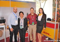 There were several logistic suppliers present, of which the team van DHL was one.