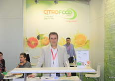 Ninu Mazzu of Citrofood. This company specialises in processed citrus products: juice, juice concentrate and oils.