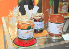 Aureli Jams, made from purple carrots, sweet potatoes and carrots. These products are exceptionally sweet, yet you can easily differentiate the tastes. The purple carrot jam is organic.
