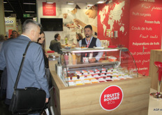"Sylvain Organi of Fruits Rouges & Co.: ""The organic soft fruit toppings are primarily grown in France. We are dependent on imports for a number of exotic fruits."""