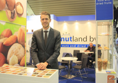 "Joren Groot of Nutland: ""Raw products are very popular. We are growing a lot of organic products. At the moment a quarter of our turnover is thanks to our organic nuts and tropical fruit."""