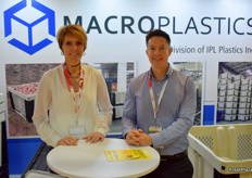 Lindy Fourie and Hugo Ramos from Macro Plastics