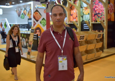 Youssif Mandour from Top Fresh for Exports, Egypt