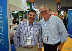 Luis Arancibia and JC von Unger from Pangea Export, Chilean cherry growers
