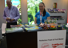 Kristie Emmerson from Perfection Fresh, the Calypso mango season will start mid October, they will be be sending it into the Chinese market.